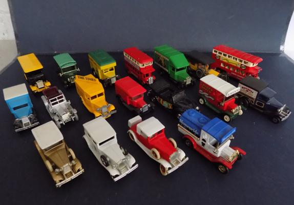 Collection of diecast vehicles