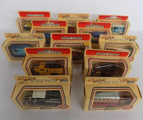 Collection of boxed diecast vehicles