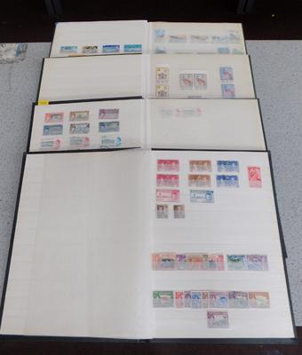 4 Albums of stamps