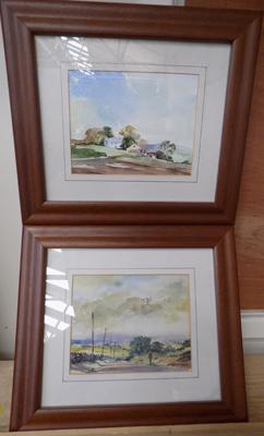 2 original water colours by venables
