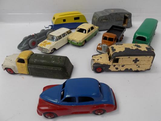 Selection of vintage Dinky's