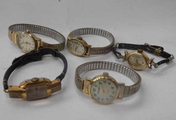 Selection of ladies cocktail watches