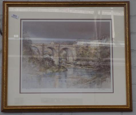 John Sibson limited edition signed print