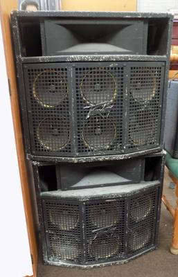Two cluster CL-2 speaker cabinets
