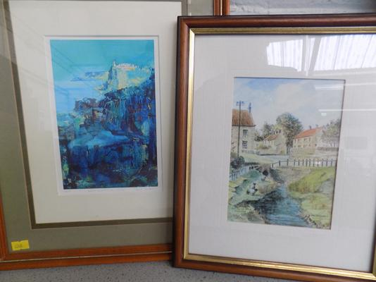 2 signed prints Skye and Hutton