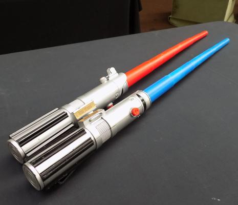 Pair of light sabres