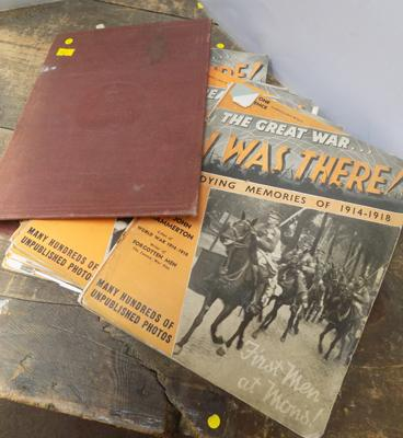 "19 issues of The Great War ""I was There""- in binder"