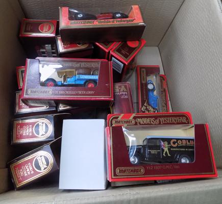 Matchbox models of yesteryear incl; Specials x17