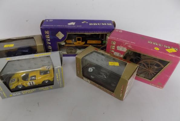 5 Brumm vehicles (boxed)