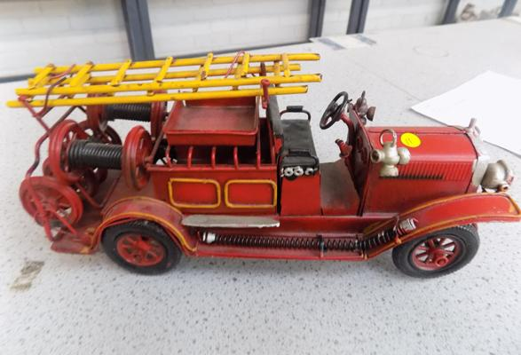 Fire engine model