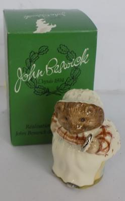 Beswick gold stamped Mrs Tiggy-winkle New and in box
