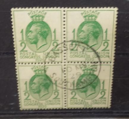 Rare 1929 PUC 1/2d  'First Day of Issue' - 10th May 1929