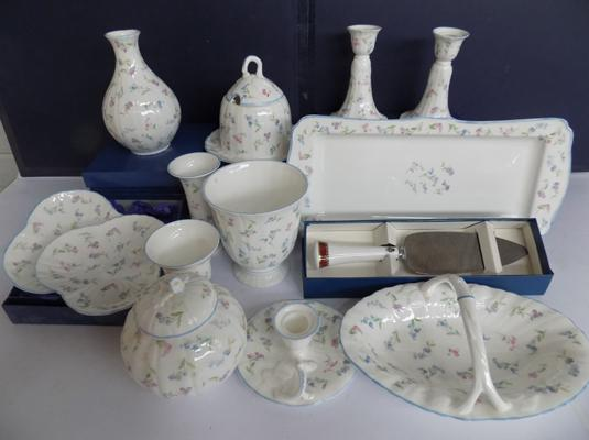 Selection of Royal Worcester pottery