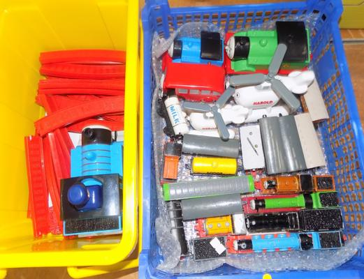 Thomas the Tank Engine collection includes diecast