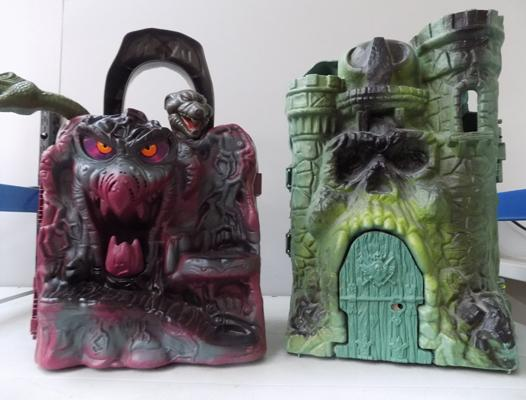 He-man Masters of the Universe Castles