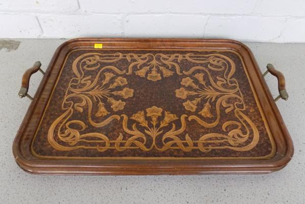 Very old butlers tray