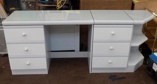 Modern style bedroom dressing table + drawers set