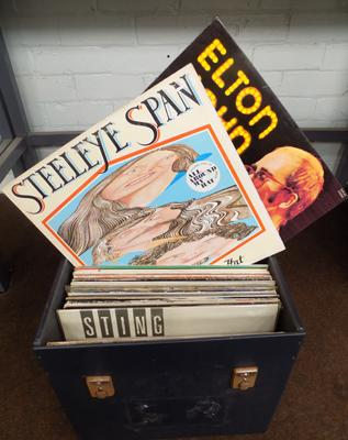 Selection of records in record box