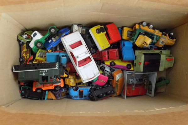 Selection of diecast cars, incl Corgi