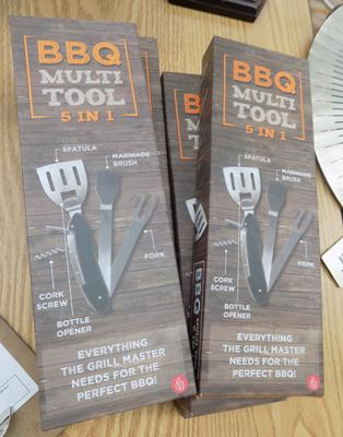 6 new 5 in 1 BBQ multi tool