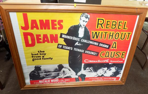 'Rebel Without a Cause' poster