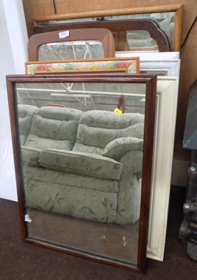 Large selection of mirrors