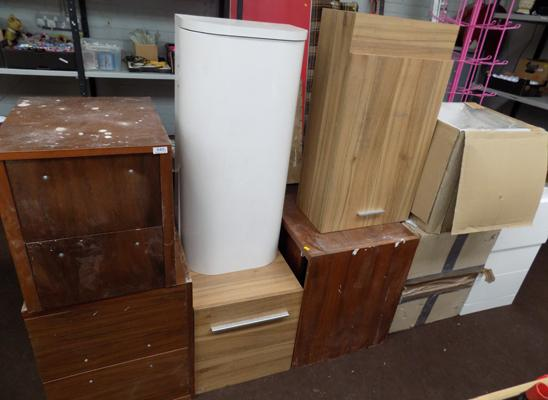 Large selection of cupboards
