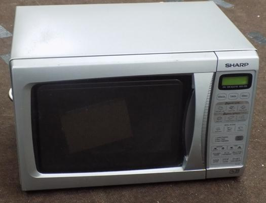 Sharp microwave oven in W/O
