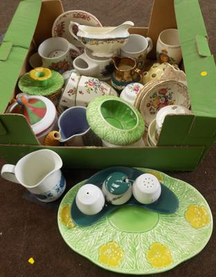 Mixed lot of pottery