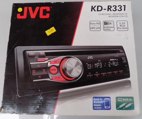 JVC car stereo in working order