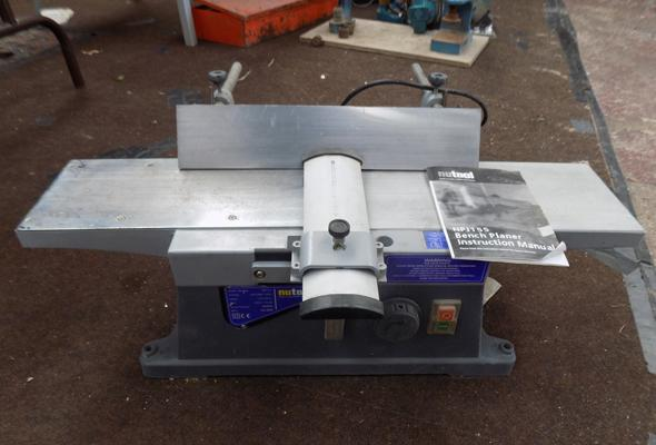 Nu-Tool bench planer in W/O with manual