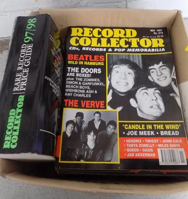 Record collector magazines and book price guide