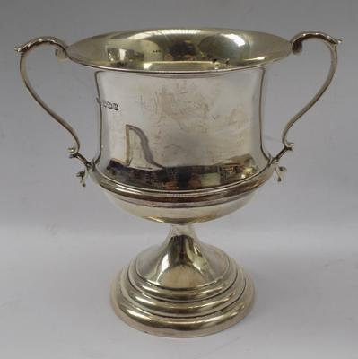 Solid silver trophy-Sheffield 1937 approx 170gms