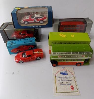 2x EFE buses, 1x Rio + others all boxed