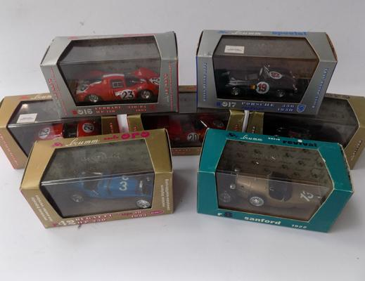 7x Brum racing cars-all boxed