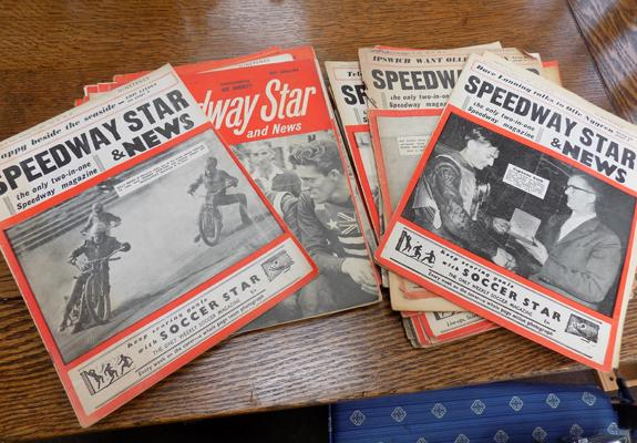 Selection of 1960s Speedway magazines