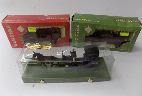 3x Brum old carriages-all boxed