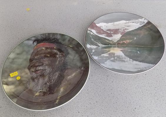 Two Royal Doulton collector's plates