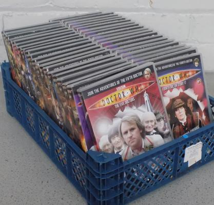 Approx 40 Dr Who DVD's-some sealed