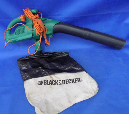 Black and Decker garden vac W/O - complete