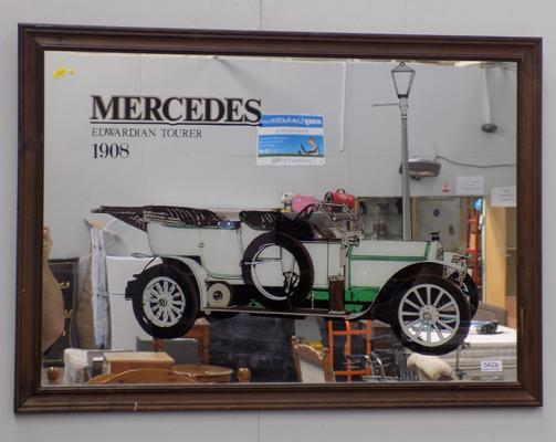 Large Mercedes mirror
