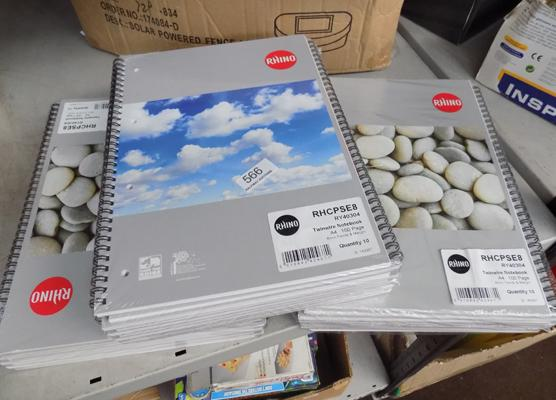 30 new A4 notebooks