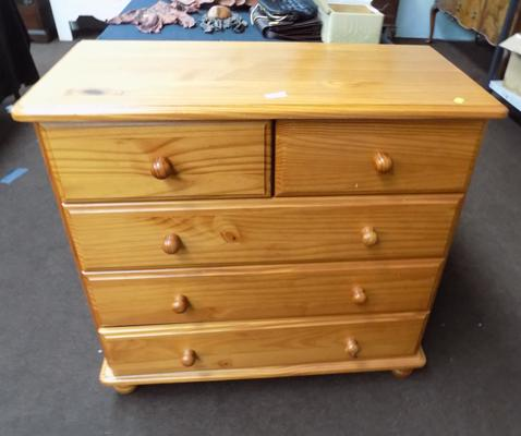 2 over 3 Pine drawers