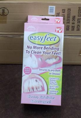 24 Easy feet-cleans, exfoliates, massages (new)