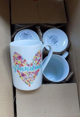 Box of new cups