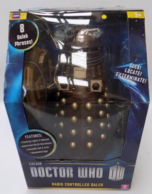 Dr Who 12inch radio controlled Dalek-unopened