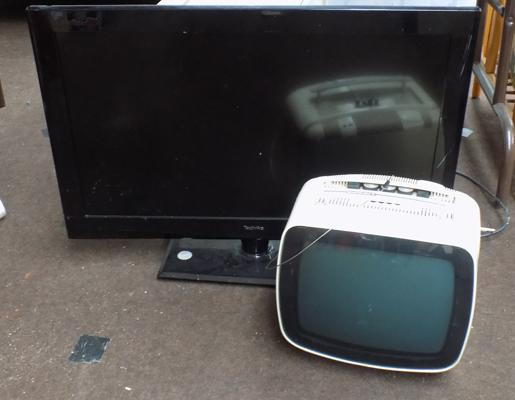 2 Tv's - one retro (as seen)