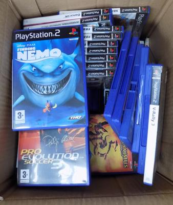 Box of PS2 games