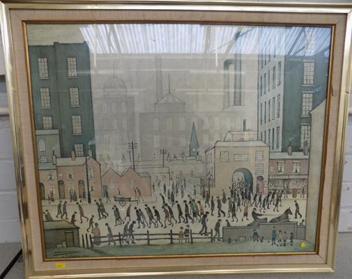 LS Lowry 1943 picture