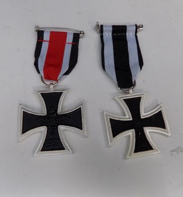 2 replacement iron-cross medals